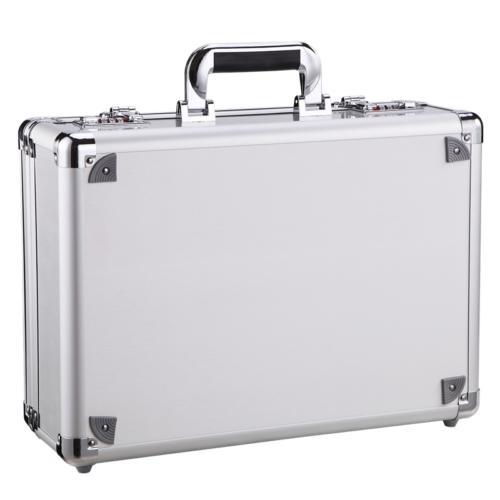 Aluminum Big Capacity Dual Men Briefcase with Pocket