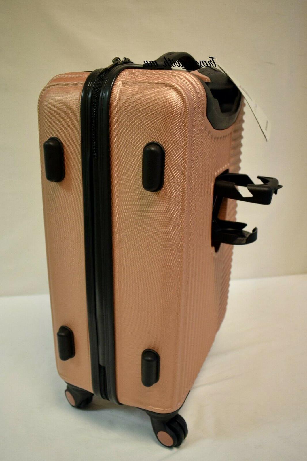 Travelers Rose Gold Set Suitcase