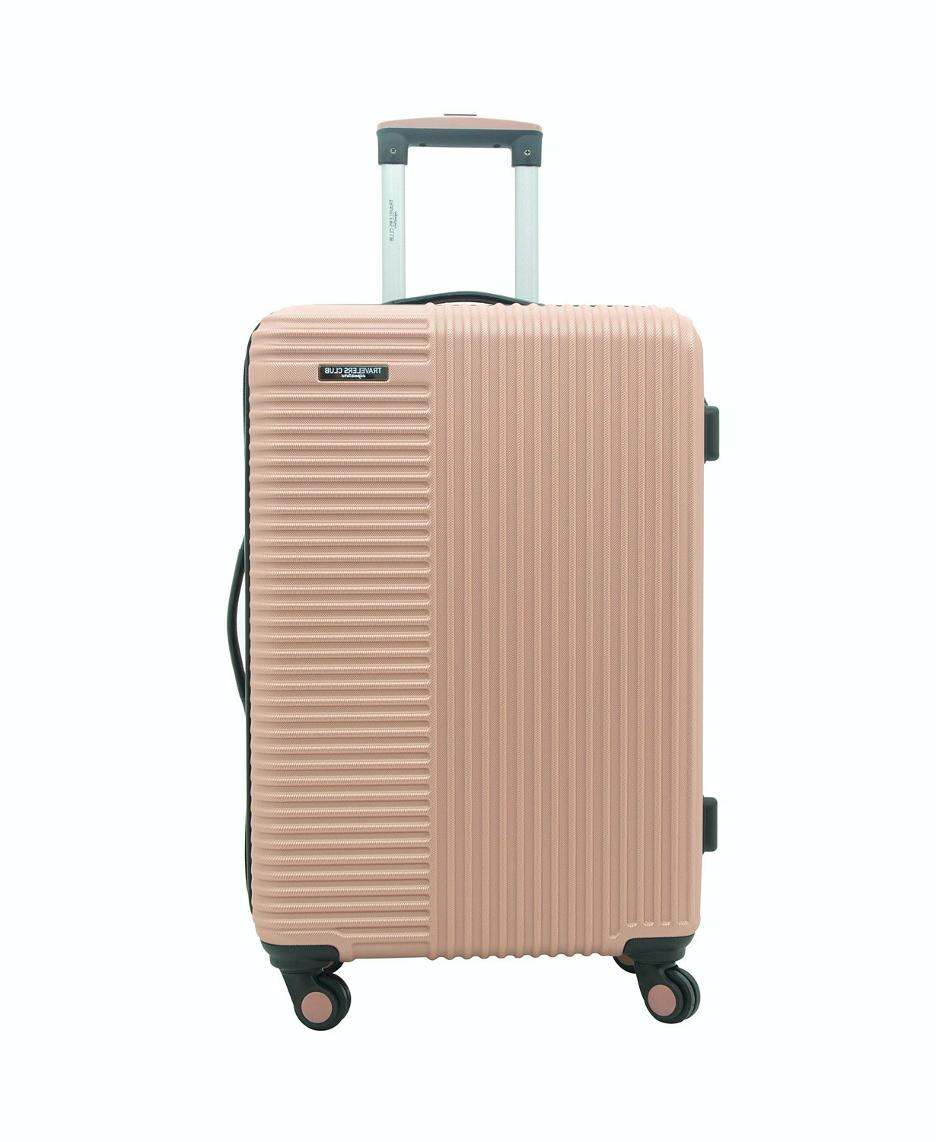 Travelers Club Gold Sided Spinner Suitcase