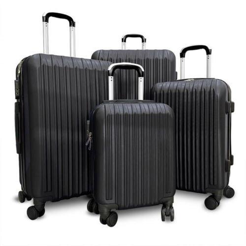 "Set 4 Set ABS Travel Hard case 20"" 24"" 28"""