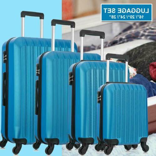 """Set Set Travel Hard case Suitcase 16"""" 20"""" 24"""""""