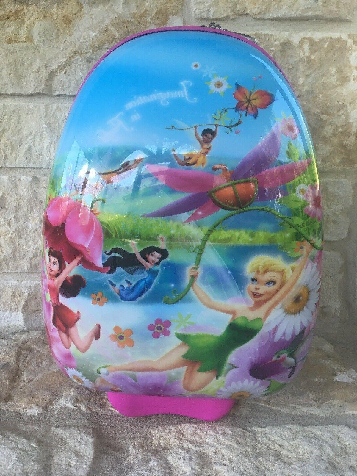 disney tinkerbell hard rolling suitcase luggage carry