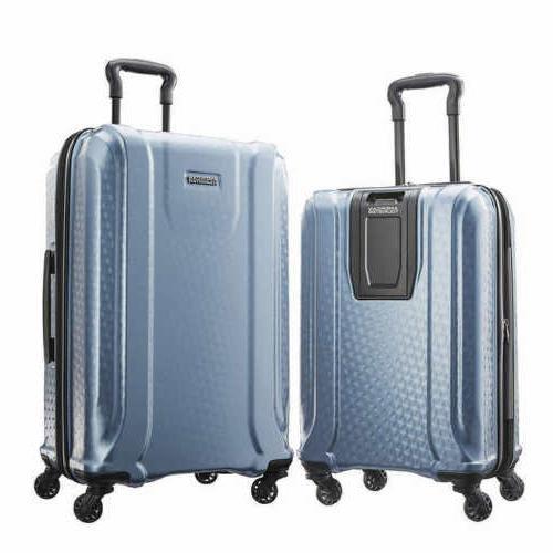 fender 2 piece hardside spinner luggage set