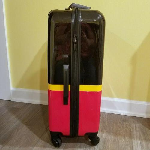 Genuine Disney Store Mouse Rolling Hard Shell Suitcase