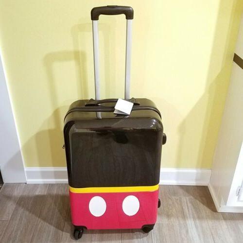 Genuine Disney Store Mouse Hard Suitcase