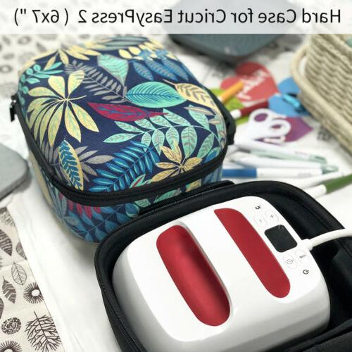 Hard EVA Storage Bag Suitcase for Cricut Press Machine