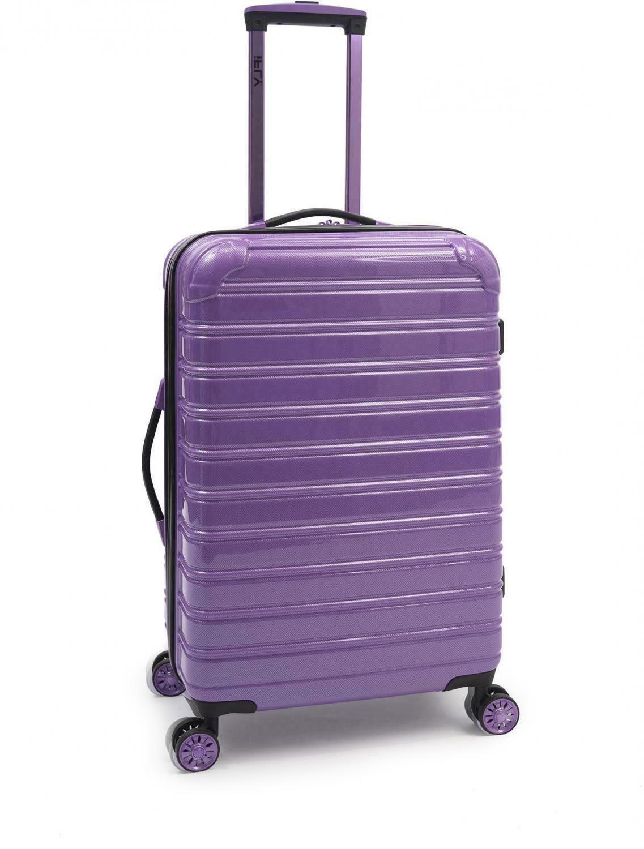 Hardside Luggage 24-Inch Purple Hard Side