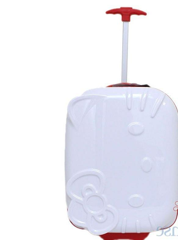 hello kitty 18 rolling abs luggage bag
