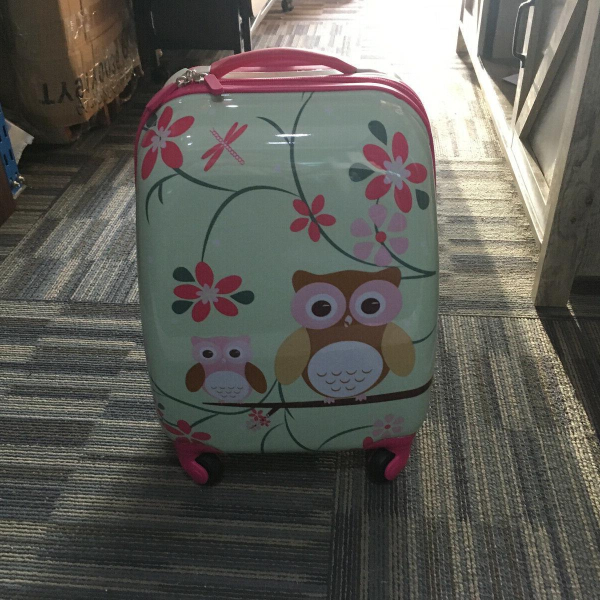 2 Pcs Travel Trolley School Bag Set
