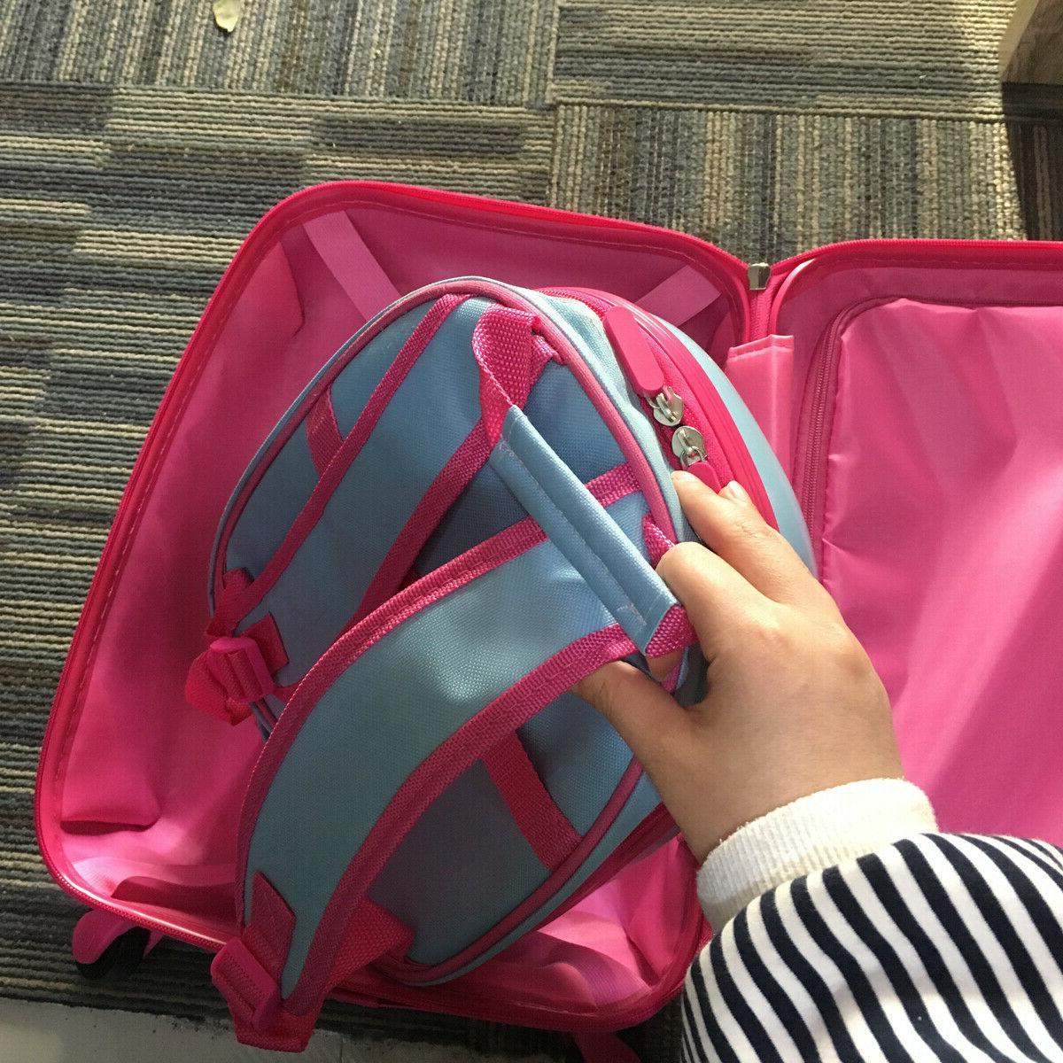 2 Trolley School Luggage Set