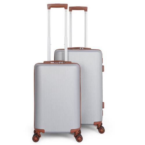 Lightweight 4 Wheel Hard Shell Suitcase Trolley Size