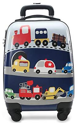 Lttxin Kids Rolling Luggage with Wheels Hard Shell Carry On