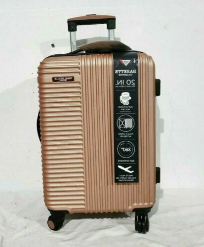"Travelers Basette 20"" Rose Suitcase"