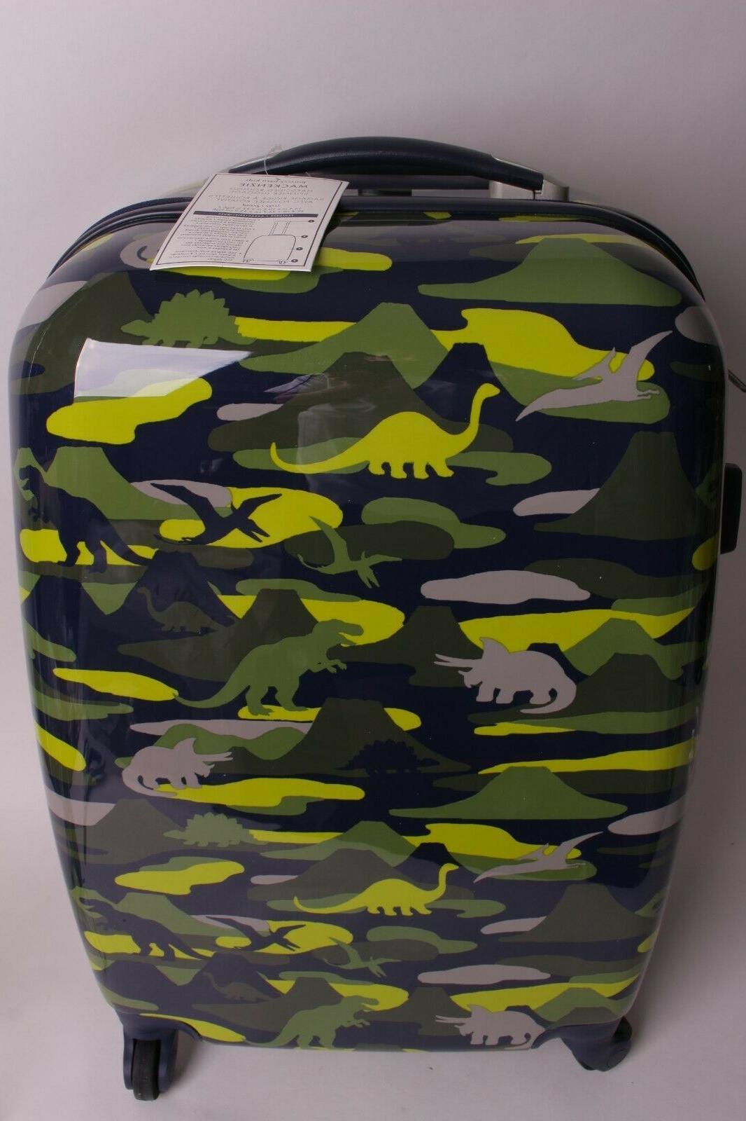 mackenzie spinner luggage large suitcase green camo