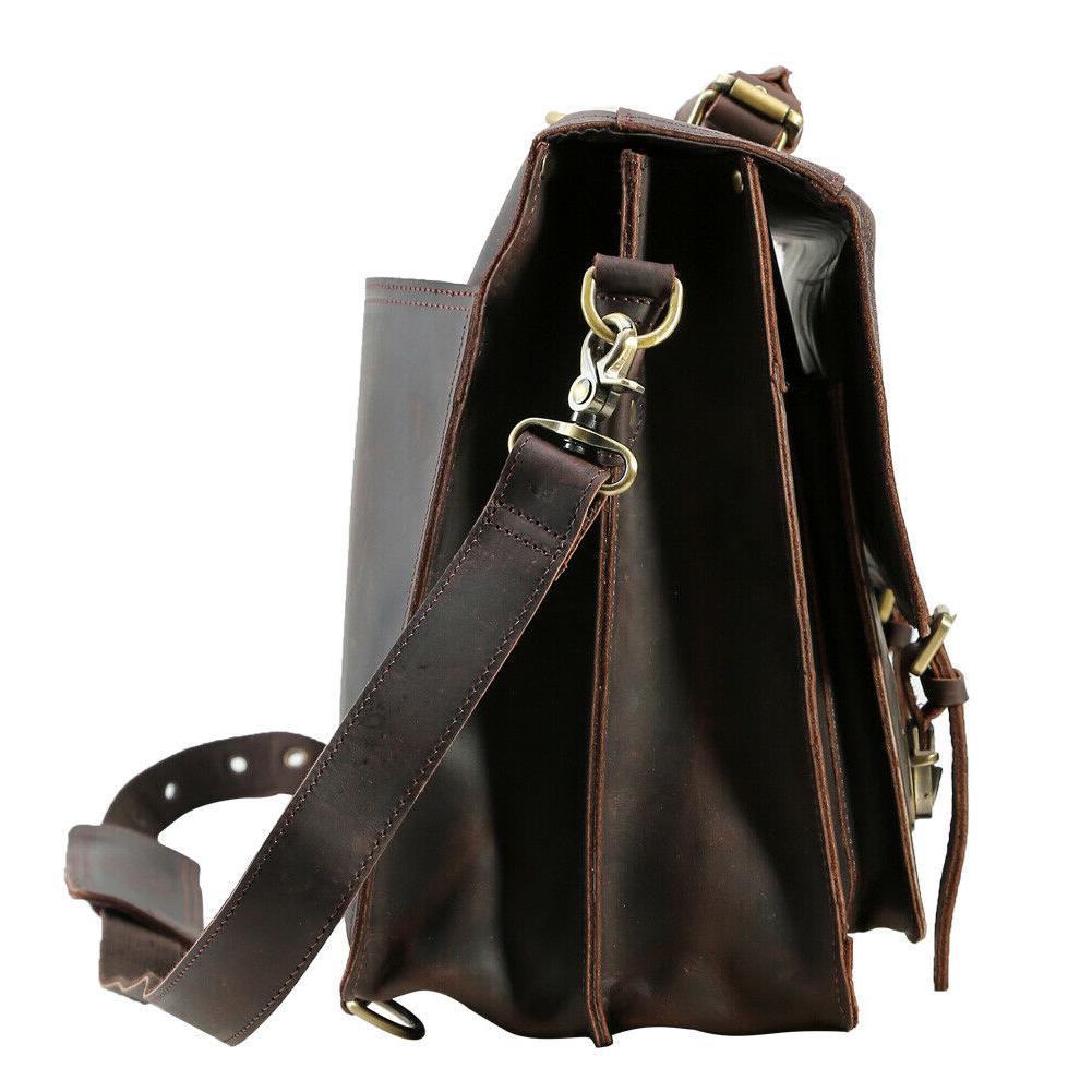 Men Laptop Briefcase Bag Handbag Daypack