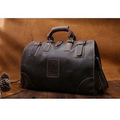 Men's Leather Messenger Suitcases