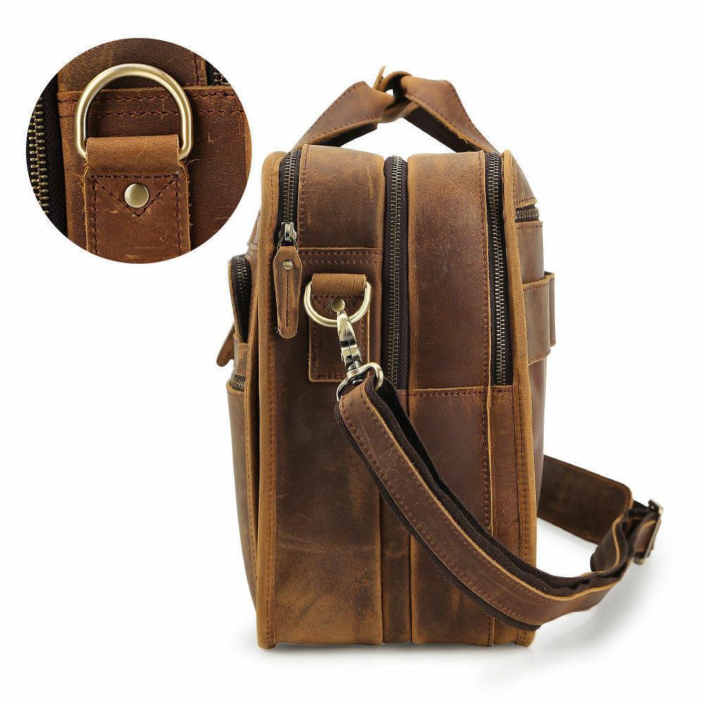 "Men Messenger Bag 17"" Laptop"