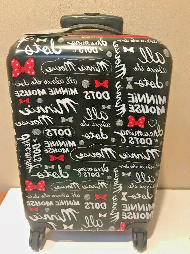 Disney Minnie Mouse On Side Suitcase