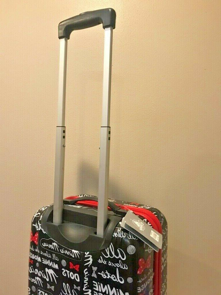 Disney Minnie Mouse Carry On Side Suitcase
