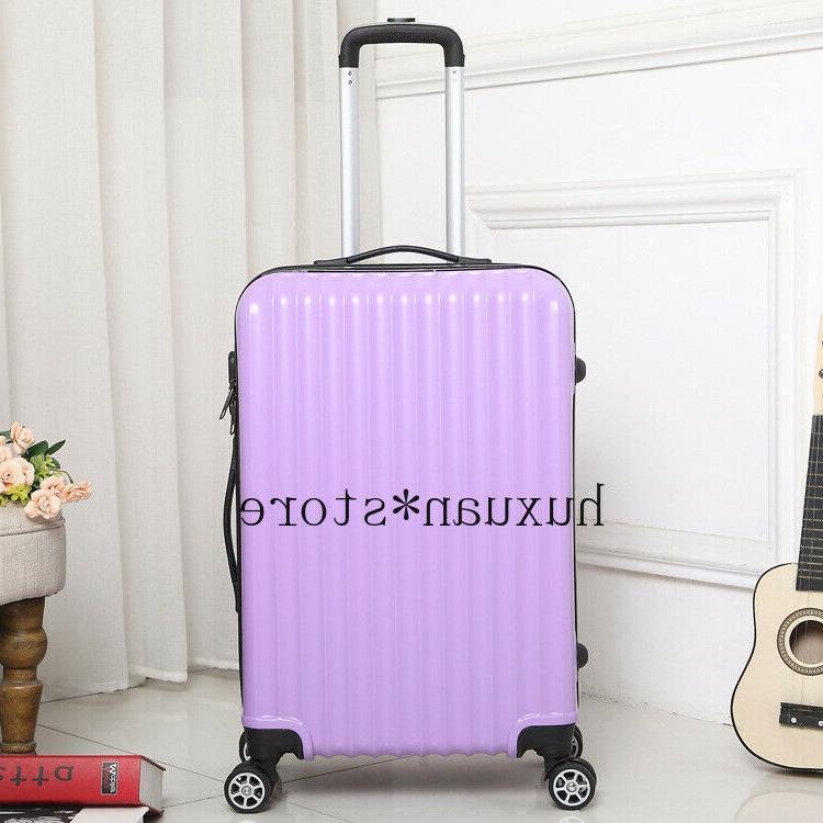 Mirror Travel Luggage Trolley Case Universal Wheel 20 Inch Inch