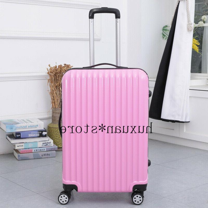 Mirror Travel Luggage Trolley Universal Wheel Inch