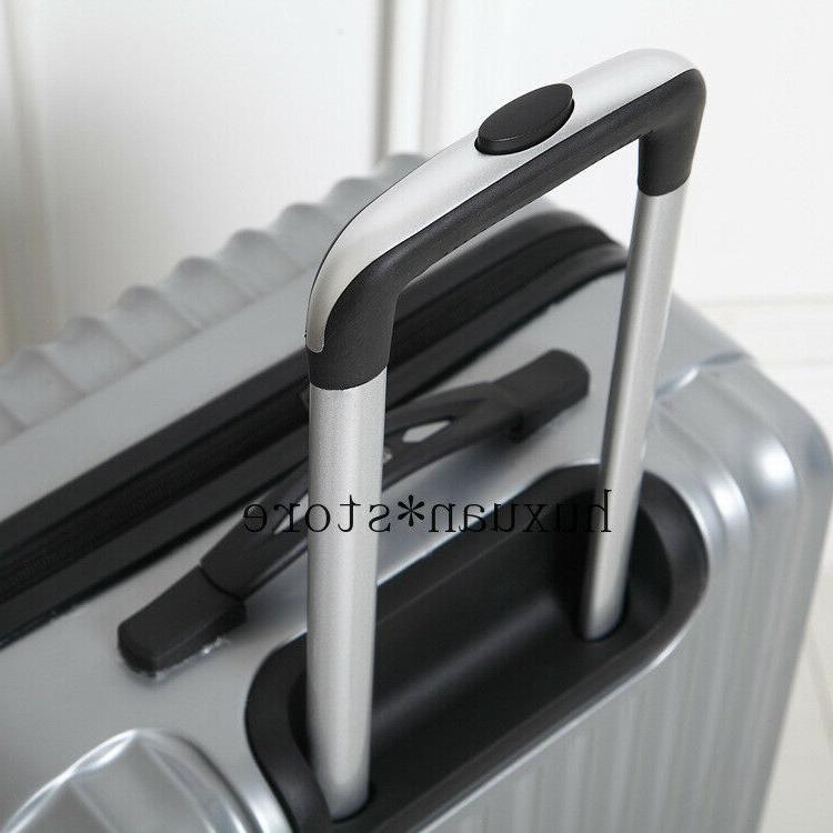 Mirror Luggage Trolley Case Wheel Inch