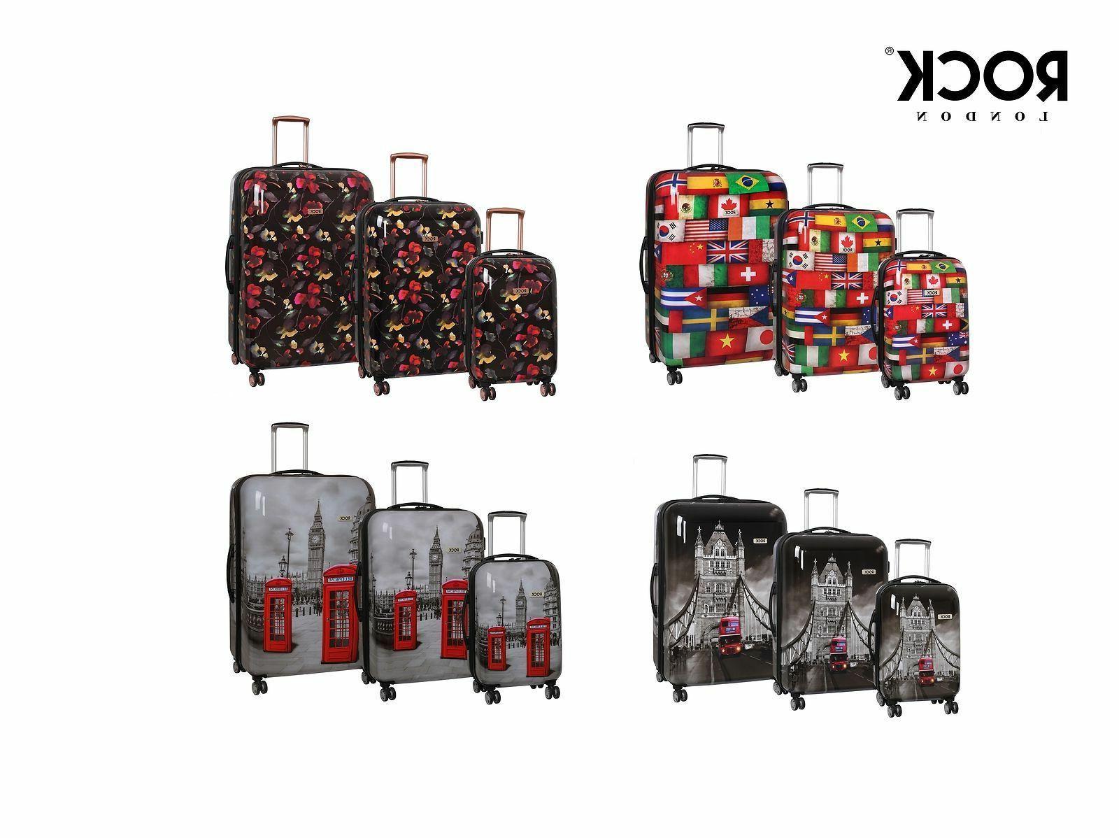 montana expandable 8 wheel hardshell spinner suitcase