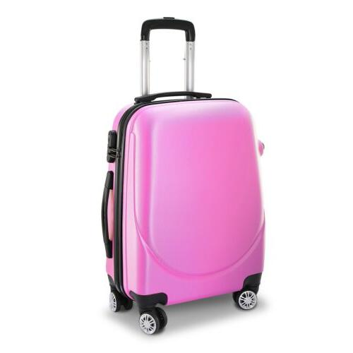 New 20 Spinner Hard Suitcase w/ 360°Rotatable