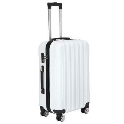 New Set Trolley Hard Shell Suitcase lock