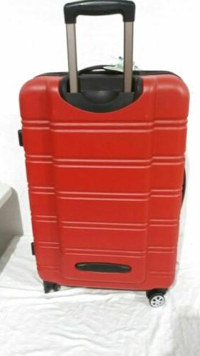 Hard Suitcase Spinner Red
