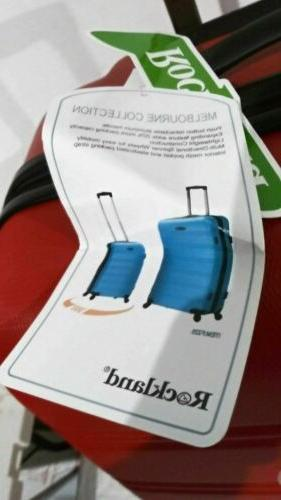 """New Melbourne 28"""" Hard Expandable Luggage Spinner"""