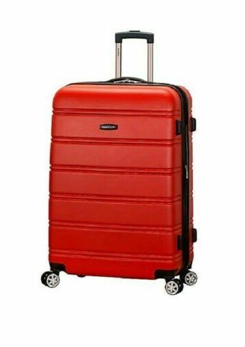 new melbourne 28 hard expandable luggage suitcase