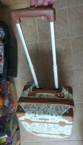 NWT Parks Princess Suitcase NEW