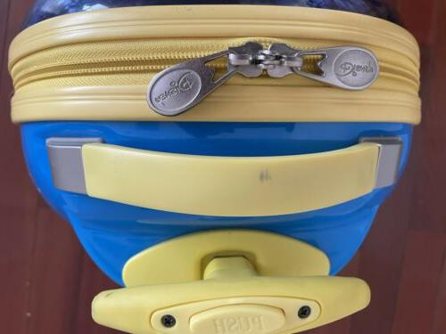Disney Pixar Heroes Shell Suitcase