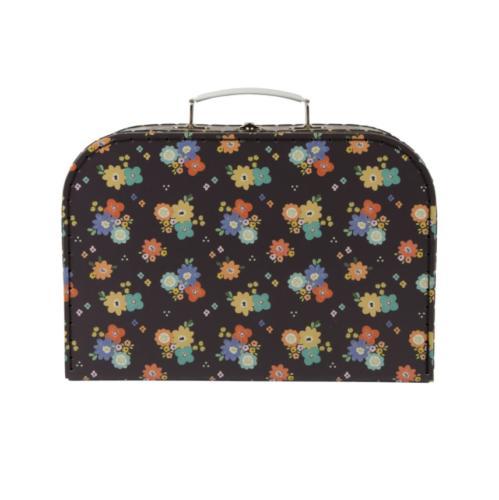 Set Floral Hard Suitcase Decoration