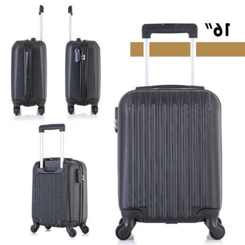 "Travel Luggage 16""20""24""28"" Black"