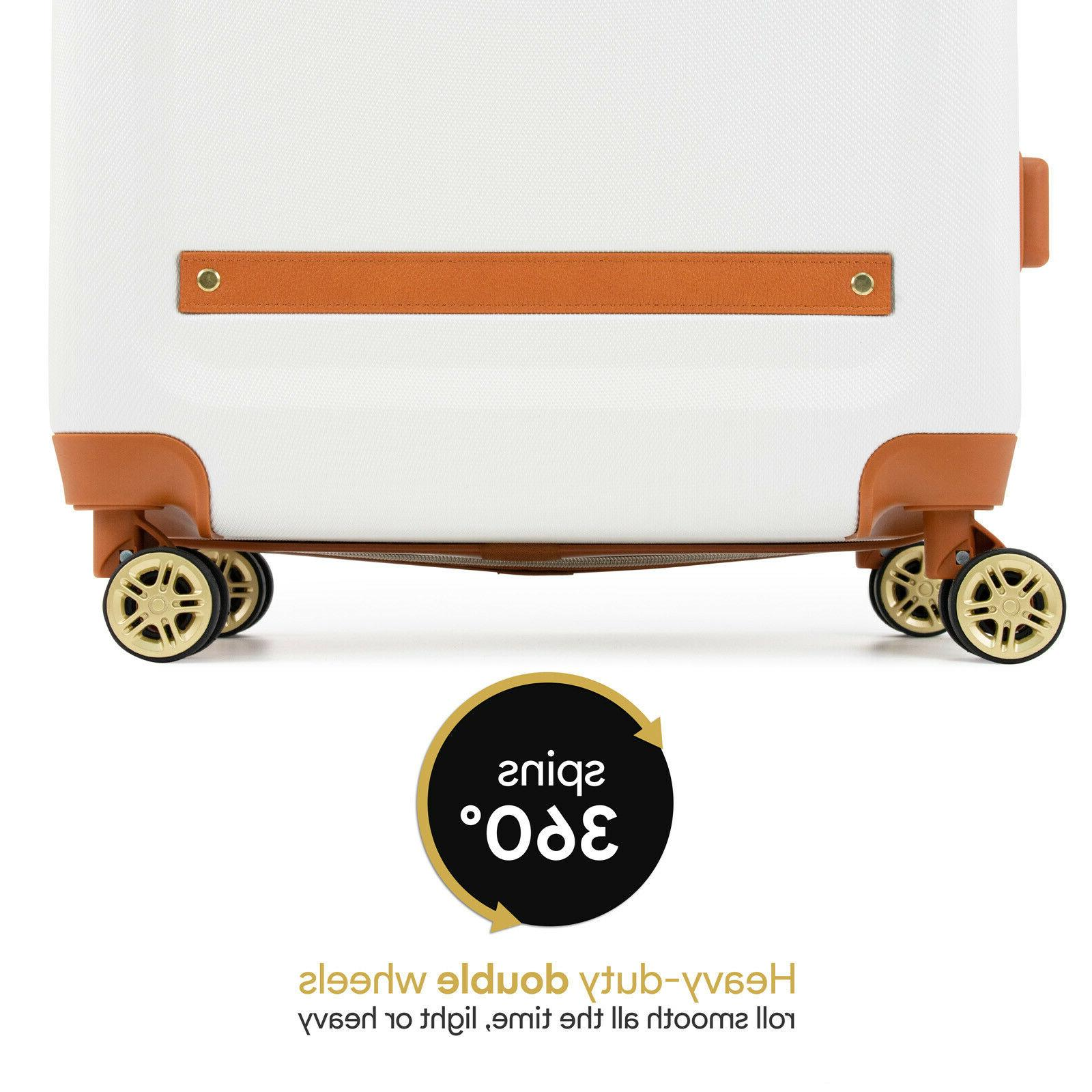 19V69 Italia Vintage Hard Spinner Suitcase