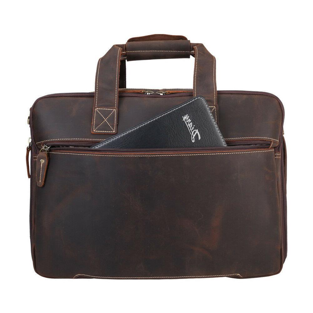 """Vintage Men 16"""" Bag Travel Handbag"""
