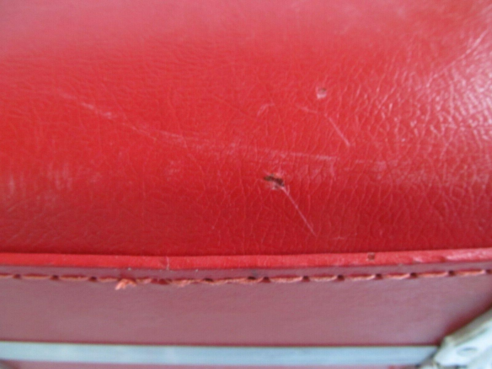 Vintage Red Suitcase Hard Shell Kids Key
