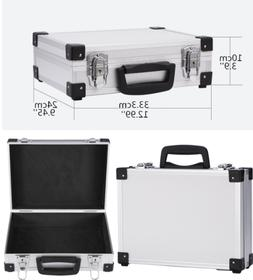 Mens Flight Cases Aluminum Hard Briefcase Office File Suitca