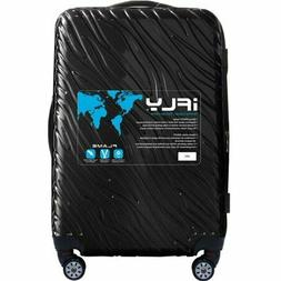 """NEW iFly Black Flame Hard Side Luggage 25"""" expandable 4-whee"""