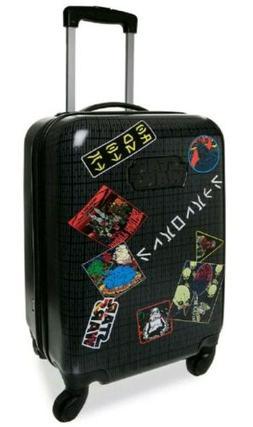 NEW Disney Kid Star Wars Hard Shell Rolling Luggage Travel S