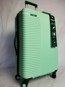 "New Travelers Club Luggage Basette 24"" Mint GreenLuggage Sui"
