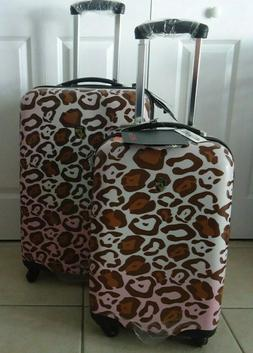"NEW SET x 2 Suitcase Spinner HEYS 26"" & 20"" carryon Luggage"
