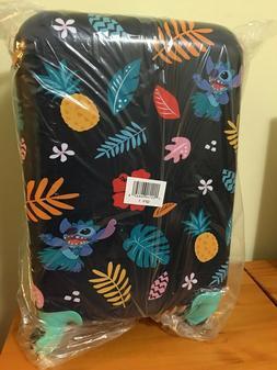 """New Disney Store Stitch Rolling Luggage  21"""" Hard Carrying O"""