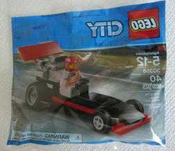 NIB LEGO® City™ Race Car Poly Bag Set 30358