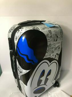 Disney Parks Mickey Comic Luggage Spinner 21inc Small Carry