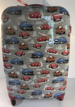PBK Disney Pixar Cars Hard Sided Mackenzie Spinner Luggage X