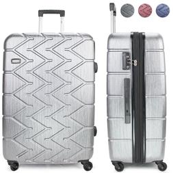 Miami CarryOn Rugged Hard Case Luggage, Spinner Wheels, 100%