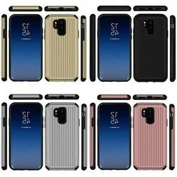 Samsung Galaxy S9 Plus SuitCase Style Carry-On Hard Hybrid C
